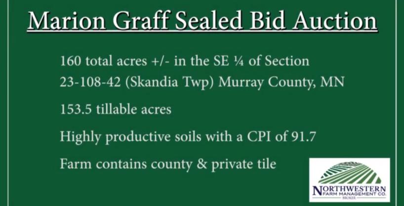 Marion Graff Trust – Sealed Bid Auction